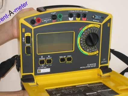 Hier Chauvin Arnoux 6115 0100 Tester Messgerat Mieten